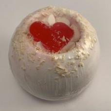 Coconut Whole Ball Bath Fizzer