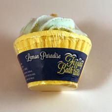 Lemon Paradise Fizzing Bath Tart