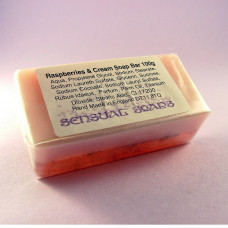 Raspberries and Cream Soap Bar 100g